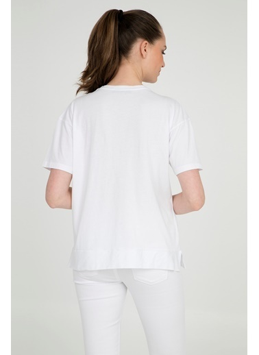Bebe Plus Bluz Beyaz